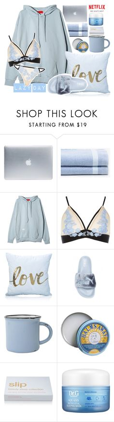 """☯"" by rainharrybow ❤ liked on Polyvore featuring Incase, Zara Home, River Island, canvas, TheBalm, Slip, My Skin Mentor Dr. G and Identity"