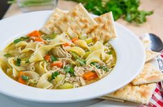 Chicken Noodle Soup-- from scratch  (Closet Cooking)