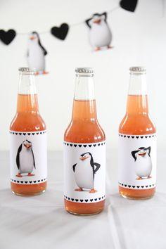 DIY: Valentine's Day-Themed Penguins of Madagascar Movie Night