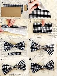 how to make a bow out of fabric! really easy
