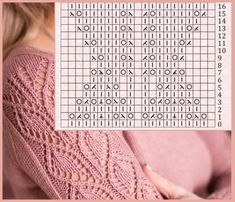 Lace Knitting, Knitting Stitches, Knitting Patterns, Knit Crochet, Crochet Patterns, Circular Needles, Crochet Diagram, Lace Design, Stitch Patterns