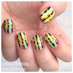 Spring/Summer 2014 nail inspo by theglitteryblog #SephoraNailspotting #Sephora #nails #nailpolish