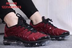 Cheap Nike Air Max Plus TN 2018 Mens shoes Dark Red Black for Wholesale and  Discount