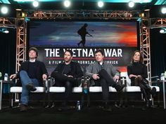 Filmmaker Ken Burns, from left, composer Trent Reznor. Examining the Vietnam War.