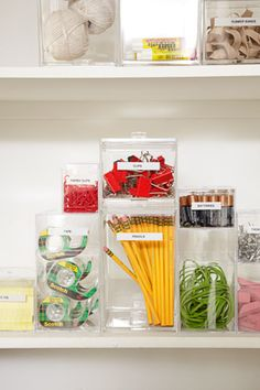 Great ways to organize home.