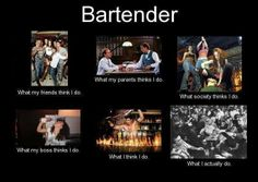 So true! Can any of you relate to this? #bartendingschool4free #sotrue