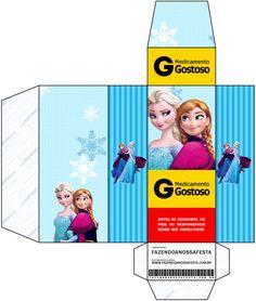 Caixa Remédio Frozen Azul