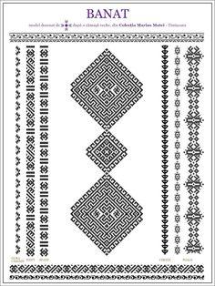 Folk Embroidery, Embroidery Stitches, Embroidery Patterns, Knitting Patterns, Cross Stitch Geometric, Cross Stitch Patterns, Ethnic Patterns, Beading Patterns, Wedding Album Design