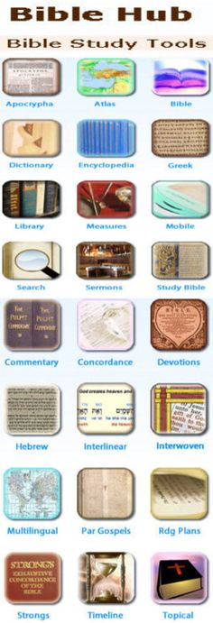 Bible Study Tools. This has a wealth of information to help in studying the Bible & scripture.