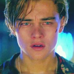 "Leonardo DiCaprio While young as Romeo Montague in Romeo + Juliet"" (1996)"