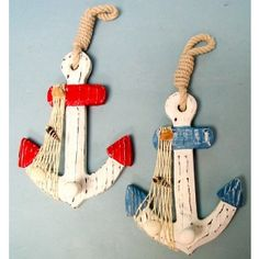 Wood anchor wall hooks