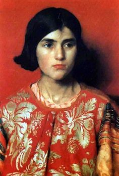 https://flic.kr/p/aAGKYS | Thomas Cooper Gotch - The Exile