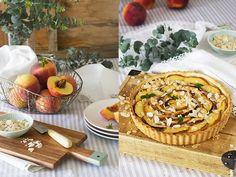 receta de tarta de melocotón y almendra