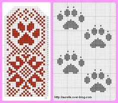 Photo Crochet Mittens, Knit Crochet, Hand Knitting, Knitting Patterns, Cross Stitch Animals, No Name, Cool Patterns, Cross Stitch Patterns, Diy And Crafts