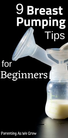 9 breast pumping tips for beginners. Save lots of time and spilled milk by using these tips. Come check it out and see for yourself. Breastfeeding Classes, Birthing Classes, Breastfeeding And Pumping, Breastfeeding Support, Pumping Schedule, Pumping At Work, Increase Milk Supply, Exclusively Pumping, Bottle Feeding
