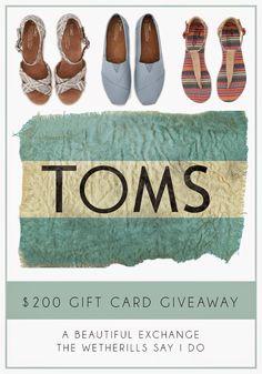 TOMS Giveaway