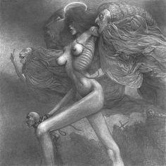 Zdzislaw Beksinski est un peintre (également sculpteur à ses débuts) qui a marqué de son empreinte la seconde moitié du XXème siècle. Décédé en 2005 à l'âge de 75 ans, cet artiste polonais a créé un véritable univers, très sombre, étrange et macabre. Voici ci-dessous quelques oeuvres remarquables. Pour en savoir et en voir plus, […]