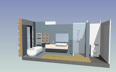 Badkamer ontwerp door Avila Architecture.