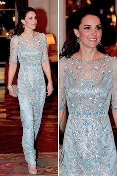 Catherine, Duchess of Cambridge in Paris.