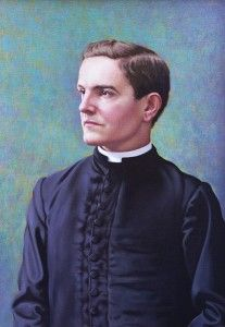Father McGivney. Founder of the Knights of Columbus.