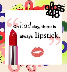 Lipstick makes everything better:)! #lipstick