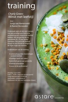 Training Winst met Leefstijl. Dinsdag I 7 juni I 2016. Aanmelden: info@astare.nl Juni, Beans, Training, Vegetables, Food, Day Planners, Coaching, Beans Recipes, Veggies