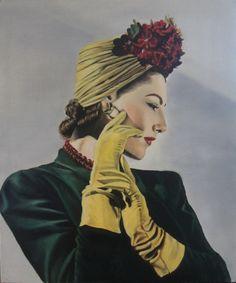 """Vogue Woman, 1941"" - Victoria Heatherbell"