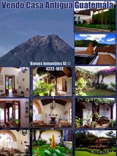 GUATEMALA REAL ESTATE  *   Bienes Inmuebles Guatemala: House For Sale Antigua Guatemala