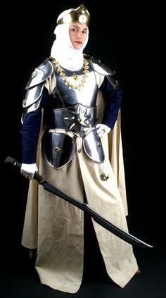 A high-born lady knight