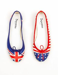 Olympics Fashions:  Repetto's Mismatched Ballet Flats http://news.instyle.com/photo-gallery/?postgallery=121725