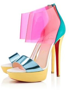 louboutin love ~ ...like colors of the caribbean ; )