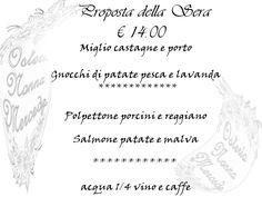 #menu #promozionale #settimanale #prezzo #modico #osteria #foodquality