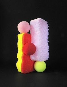 Takashi Suzuki has ensured that you will never look at a household sponge in the same way again. His growing number of compositions is delightful, like candy and cake.