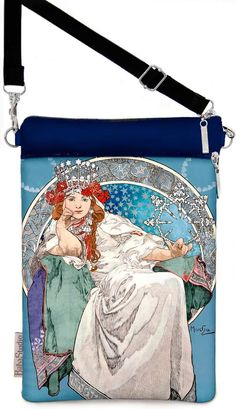 Mucha Print Handbags