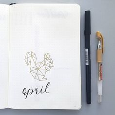 "20 Likes, 1 Comments - Andi (@andi.journal) on Instagram: ""Goodbye march and welcome april  . . . .  #bujo #bujojunkies #bulletjournalcommunity…"""