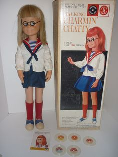 Charmin Chatty Cathy. I loved this doll! My older sister had it and she would never let me play with it!