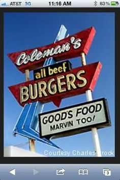 Coleman's....Okmulgee, OK.....ranked #1! Best melt-in-your-mouth burgers and handmade Onion Rings around!!
