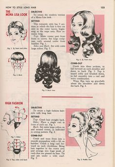 Hair tutorial from the 70s