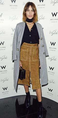 Look of the Day - February 22, 2015 - Alexa Chung from #InStyle
