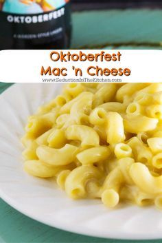 Seduction in the Kitchen | Oktoberfest Mac 'n Cheese | https://www ...