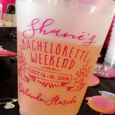 Bachelorette, Bachelorette Cups, Final Fling Before the Ring, Bachelorette Party, Girls Weekend Gift, Party Cups, Frosted Plastic Cups, 1405 by SipHipHooray on Etsy https://www.etsy.com/listing/486333167/bachelorette-bachelorette-cups-final
