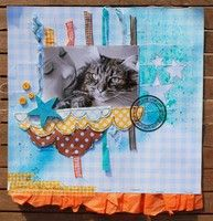 A Project by virginie scrap from our Scrapbooking Gallery originally submitted 02/18/12 at 09:59 AM