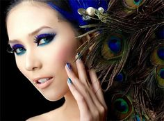 #Peacock Makeup