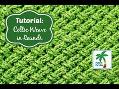 Tutorial: Celtic Weave Stitch in Rounds | Pattern Paradise