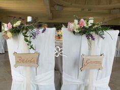 Il tavolo degli sposi.  Dettagli natural chic per un evento indimenticabile e ricco di emozione