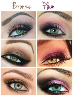 Discover these natural makeup ideas Pic# 8410 Plum Eye Makeup, Pretty Eye Makeup, Eye Makeup Art, Skin Makeup, Awesome Makeup, Makeup Stuff, Beauty Stuff, Diy Beauty, Beauty Hacks