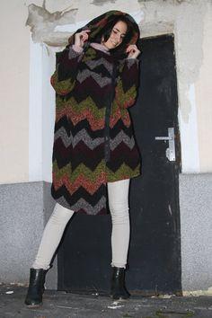 Oversize coat.Extravagant coat.Women by MIAatelier on Etsy