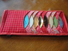 Me Sew Crafty: CD Visor Holder   DIY tutorial   handmade inspiration   sew crafty   follow link to blog