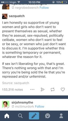 I didn't even know there were people who thought women not wanting to have sex/be sexy is unfeminist? I have some news for you, if you claim to be a feminist and you shame women for this, you're not a feminist. Same goes for the reverse too, if you shame women who DO want to have sex, you're also not a feminist.