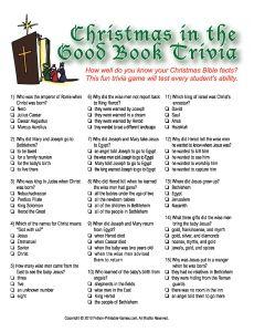 Christmas Trivia | Youth group | Christmas trivia ...